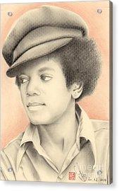 Michael Jackson #eleven Acrylic Print