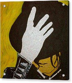 Michael Jackson Acrylic Print by Estelle BRETON-MAYA