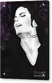 Michael Jackson #fifteen Acrylic Print
