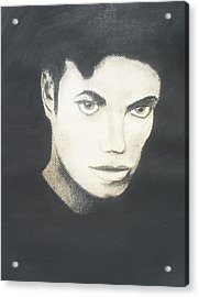 Michael Jackson Acrylic Print by M Valeriano