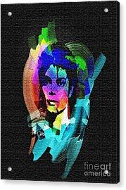 Michael Jackson Acrylic Print by Mo T