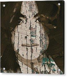 Michael Jackson On Board Acrylic Print