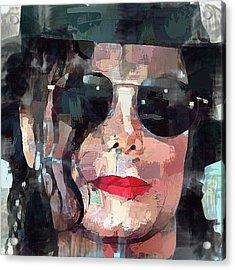 Michael Jackson Portrait 01 Acrylic Print