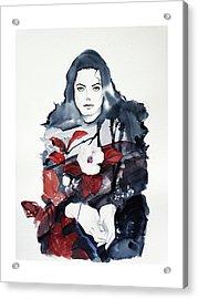 Michael Jackson - Shiny Day Acrylic Print