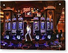 Michael Jackson Slots  Acrylic Print