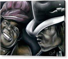 Michael Jackson Acrylic Print by Zach Zwagil