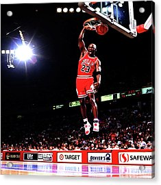 Michael Jordan 23f Acrylic Print