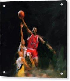 Michael Jordan 548 1 Acrylic Print
