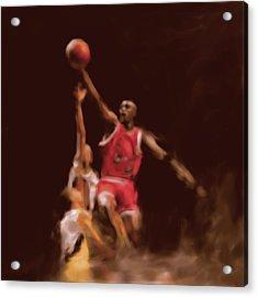 Michael Jordan 548 2 Acrylic Print by Mawra Tahreem