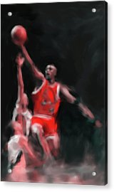 Michael Jordan 548 3 Acrylic Print