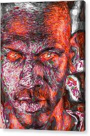 Michael Jordan Digital Painting 2 Acrylic Print