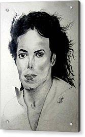 Michael Acrylic Print by LeeAnn Alexander