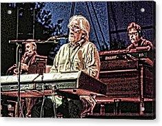 Michael Mcdonald And Band Acrylic Print