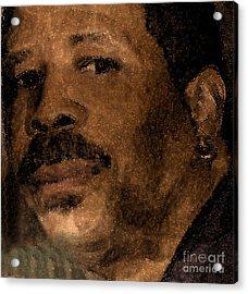 Michael Portrait Acrylic Print