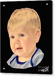 Michael Acrylic Print by Tobi Czumak
