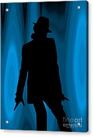 Michael Acrylic Print by Walter Oliver Neal