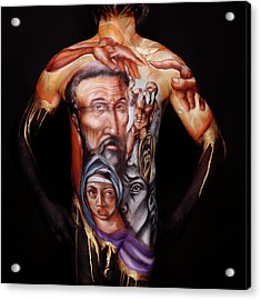 Michelangelo_i Acrylic Print by Cully Firmin