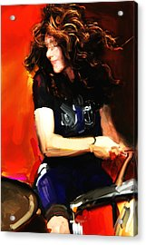 Michelle Mangione Acrylic Print by James VerDoorn