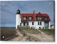 Acrylic Print featuring the photograph Michigan Lighthouse II by Gina Cormier