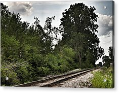 2003 - Michigan Rails I Acrylic Print