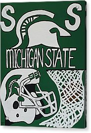 Michigan State Spartans Acrylic Print