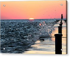 Acrylic Print featuring the photograph Michigan Summer Sunset by Bruce Patrick Smith