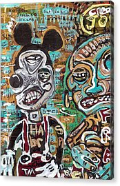 Mick And Frank Acrylic Print