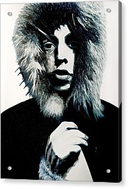 Mick Jagger - Rolling Stones Acrylic Print