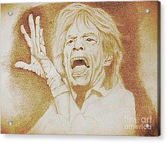 Mick Jagger Of The Rolling Stones Acrylic Print