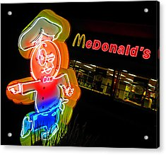 Mickey D's Acrylic Print