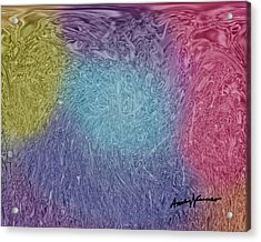 Microbes Acrylic Print by Anthony Caruso