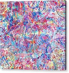 Microcosm Acrylic Print by Rollin Kocsis