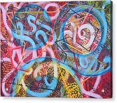 Microcosm Xii Acrylic Print by Rollin Kocsis