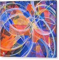 Microcosm Xiii Acrylic Print by Rollin Kocsis