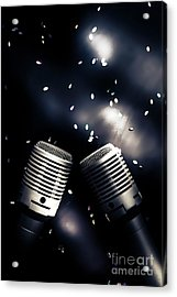 Microphone Club Acrylic Print by Jorgo Photography - Wall Art Gallery