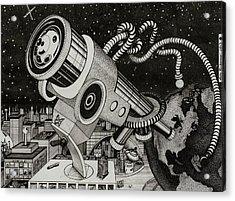 Microscope Or Telescope Acrylic Print