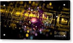 Microscopic Viii - It Acrylic Print by Sandra Hoefer