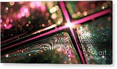 Microskopic Vi - Disco Fever Acrylic Print by Sandra Hoefer