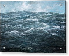 Mid Atlantic Acrylic Print by Richard Willis