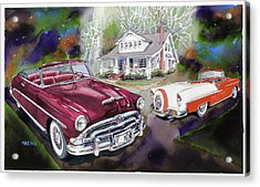 Mid Century Classics Acrylic Print by Mike Hill