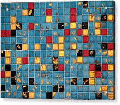 Mid Century Tiles Acrylic Print by Christopher Woods