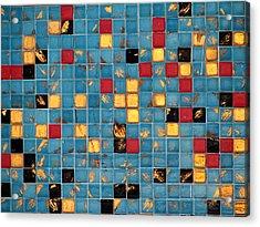 Mid Century Tiles Acrylic Print