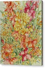 Summer Day Acrylic Print by Kim Tran
