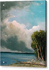 Midday Clouds Acrylic Print