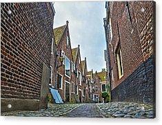 Middelburg Alley Acrylic Print