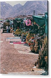 Acrylic Print featuring the photograph Middle-east Market by Charles McKelroy