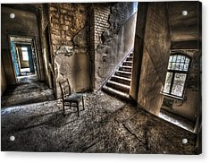 Middle Floor Seating Acrylic Print