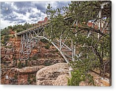 Midgley Bridge 1 Acrylic Print