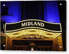 Midland Theater Acrylic Print