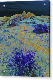 Midnight At The Burning Coal Vein Acrylic Print
